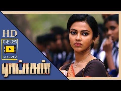 Goons misbehave with Amala Paul | Ratsasan Movie Scenes | Vishnu Vishal saves Amala Paul