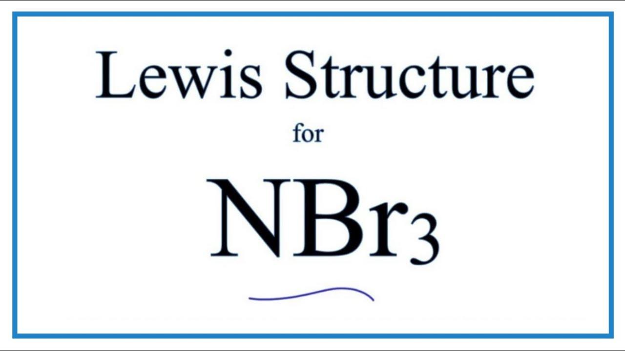 Lewis Dot Diagram For Nitrogen