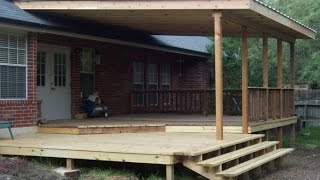 Gambar cover Covered Deck Pictures