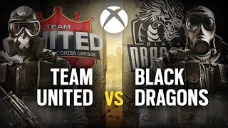 [BR] TEAM UNITED vs. BLACK DRAGONS | Play Day #5 | EliteSix S02 (XBOX)