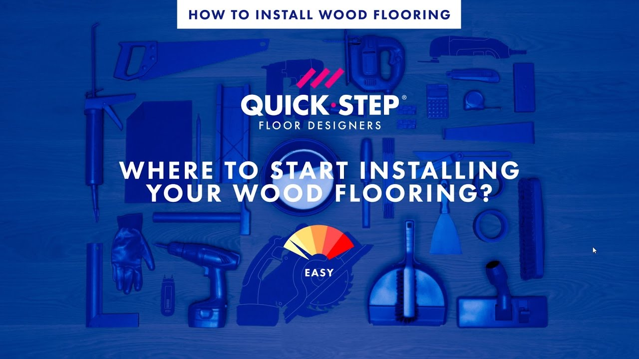Where to start installing your wood flooring | Tutorial by Quick-Step