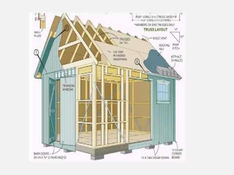 DIY Shed Plans Build Your Own Wooden Garden Sheds YouTube – Home Built Shed Plans