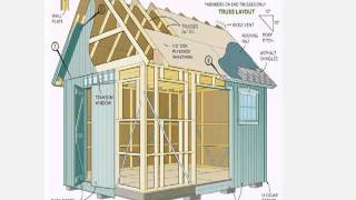 Diy Shed Plans - Build Your Own Wooden Garden Sheds