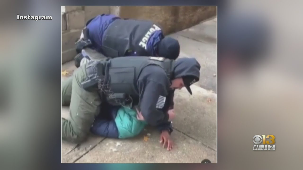 Download Baltimore Police Investigating Use Of Force After Viral Arrest Video
