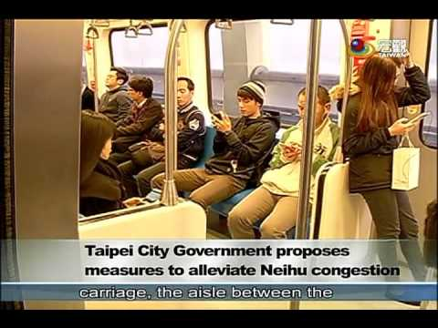 〔柯文哲〕解決內湖塞車新發想 Taipei City Government proposes measures to alleviate Neihu congestion—宏觀英語新聞