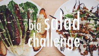 THE BIG SALAD CHALLENGE  hot for food