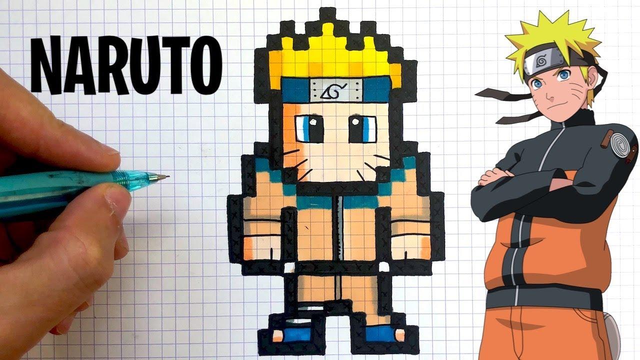 Como Desenhar Naruto Pixel