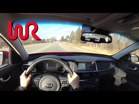 2017 Kia Optima Hybrid WR TV POV Test Drive
