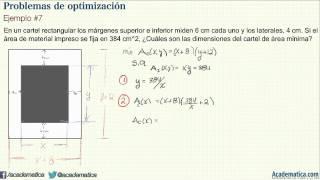 Problemas de optimización - Ejemplo #7