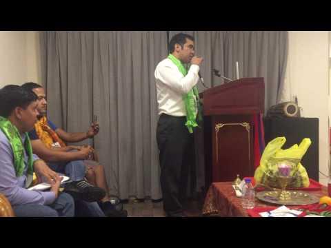 Raju Khadka's Speech in Dubai about Society (Samaj)