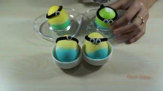 Pişmiş Yumurta Dan Minyonlar Yapımı Ve Nasıl yumurta renklendirilir