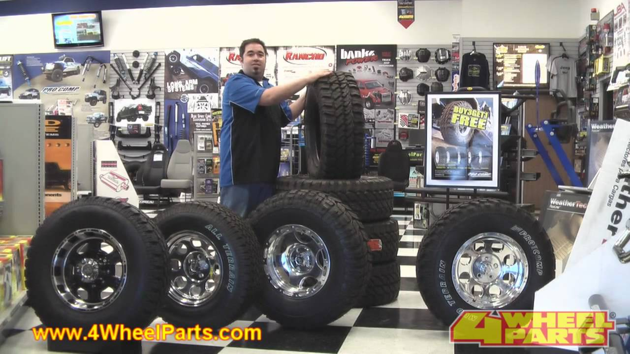 Pro comp tires from mild to wild youtube for Don robinson motors st cloud minnesota