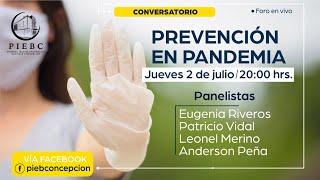 Conversatorio - Prevención en Pandemia