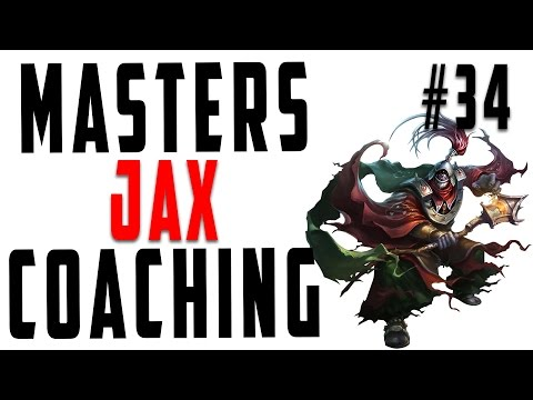 Masters Coaching #34 - Jax Top (Silver 4)