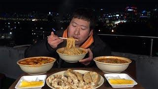 뜨끈한 짬뽕 3종 [[어묵짬뽕,차돌짬뽕,알짬뽕]] 먹방!! - Mukbang eating show