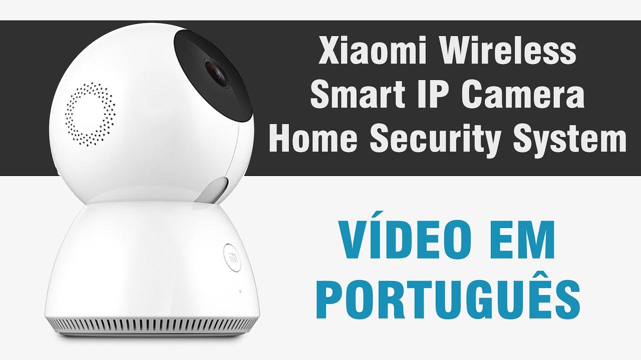 Xiaomi Smart IP Camera Sistema de Segurança Doméstico - YouTube f06d32a2e8