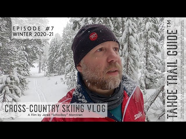Outdoor VLOG 7: Cross-Country Skiing in a Snow Globe