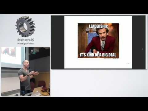Adam Drake at Data Science Singapore - How To Lead And Win In A Data Life - 20161006