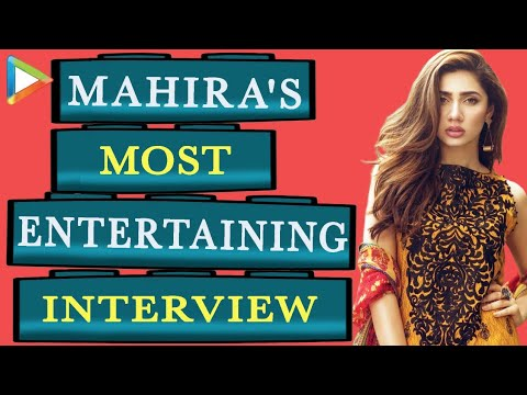 Mahira Khan's Most CANDID Interview On SRK, Ranbir Kapoor, Raees & Lot More