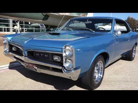 1967 Pontiac GTO HURST 4-speed Muscle Car