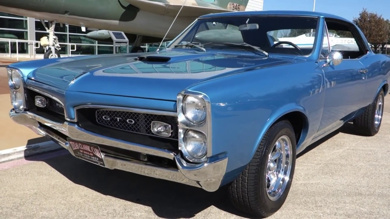 1967 Pontiac Gto Hurst 4 Speed Muscle Car Youtube