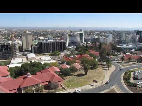 MVI 0125   Windhoek vanaf Nationaal Museum
