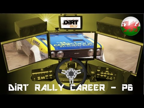 DiRT Rally Career - Part 6 (Fiat 131 Abarth at Wales)