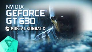 mortal kombat x   gameplay on gt630 2gb ddr3 hd