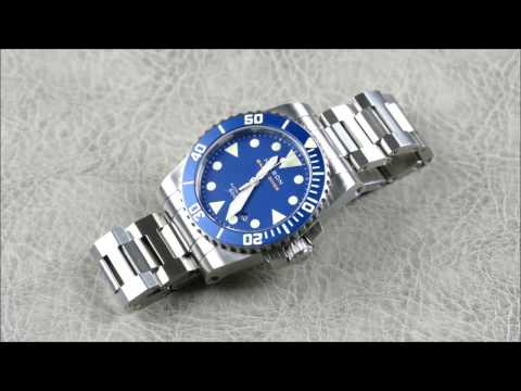 On the Wrist, from off the Cuff:  Helson – Shark Diver 40mm