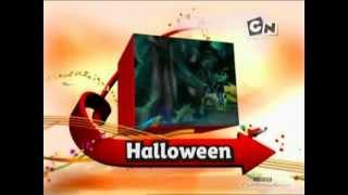Cartoon Network Deutschland Halloween-Anzeige und Idents 2010