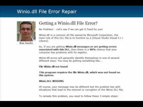 Winio.dll Error Fix - Winiodll.com