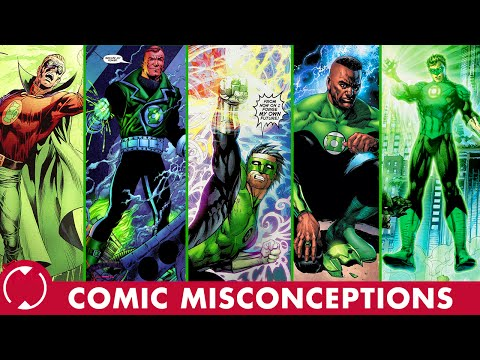 Who are All the Green Lanterns? || Comic Misconceptions || NerdSync