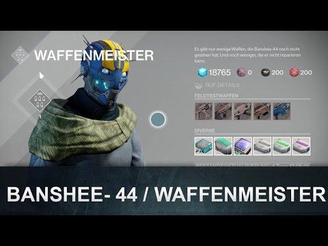 Destiny: Waffen Guide: Banshee - 44 / Waffenmeister