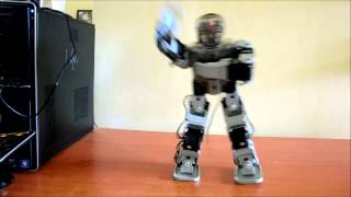 Gangnam Style - Robot Bioloid Premium Umanoid - Robot Dance