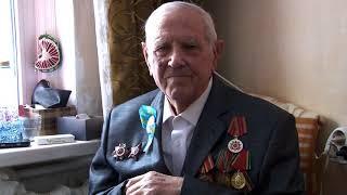 Ветеран великой отечественной войны Мякишев Виктор Васильевич