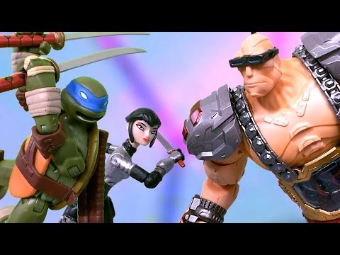 TMNT 2016 Stop Motion S02E07- War Machine