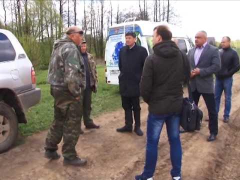 Сюжет ТСН24: Из-за чего река в Ясногорском районе покрылась белой пеной?
