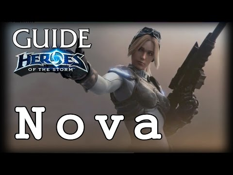 видео: Гайд Нова hots - guide nova heroes of the storm - hots Гайд Нова