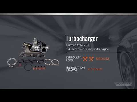 How to Replace the Turbocharger for Select Buick & Chevrolet Models