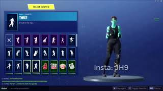 New Leaked Emotes (fortnite battle Royale) hula, twist, on the hook, flippin incredible