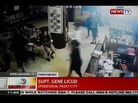 BT: Panayam kay Supt. Gene Licud, spokesman, Pasay city