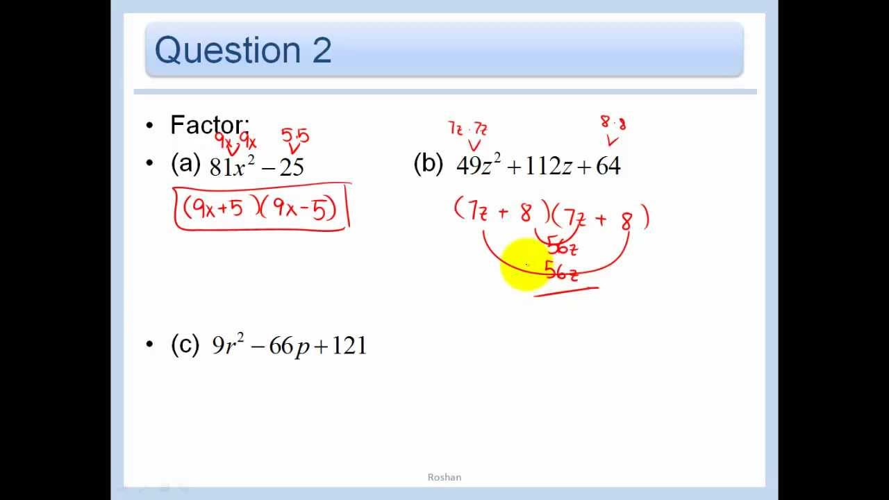 Factoring Ax2 Bx C Worksheet Answers