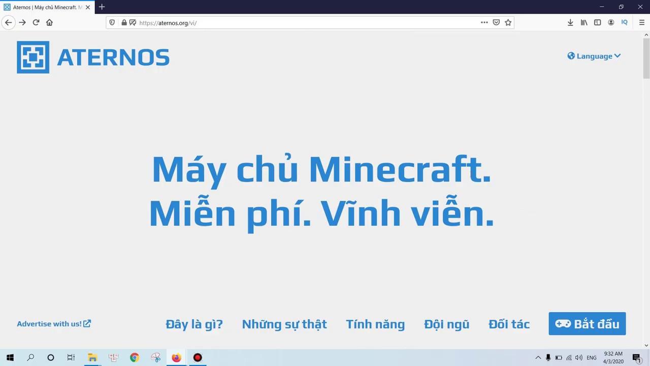 Hướng Dẫn Cách Tạo Server Minecraft Miễn Phí Vĩnh Viễn