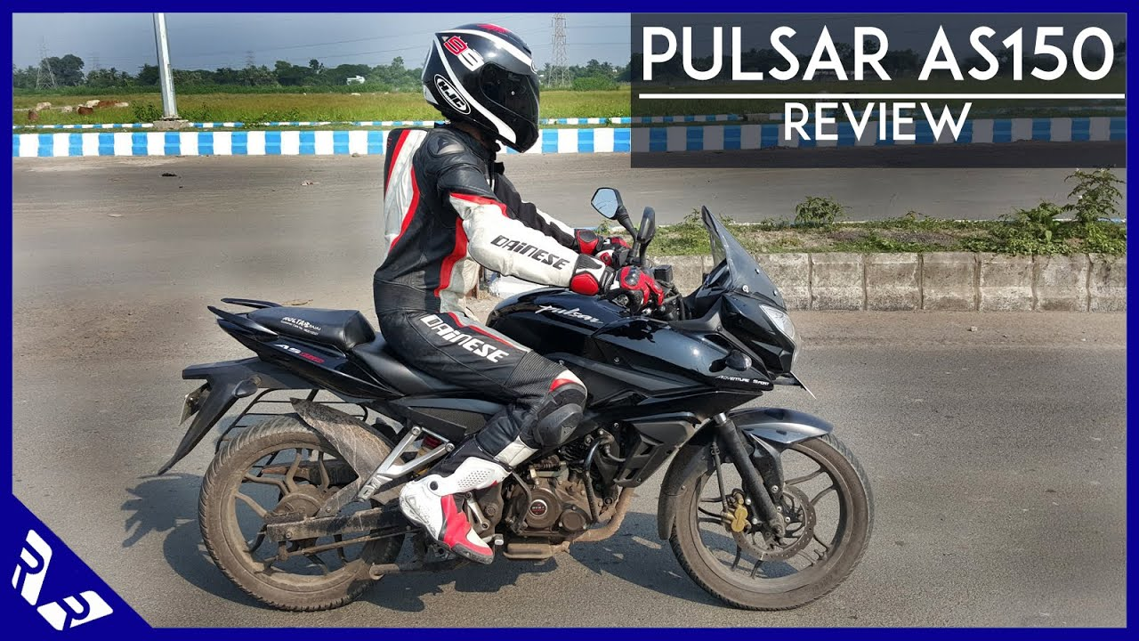 Bajaj pulsar as 150 review road test detailed video rwr youtube