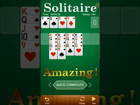 Free Classic Solitaire Card Game