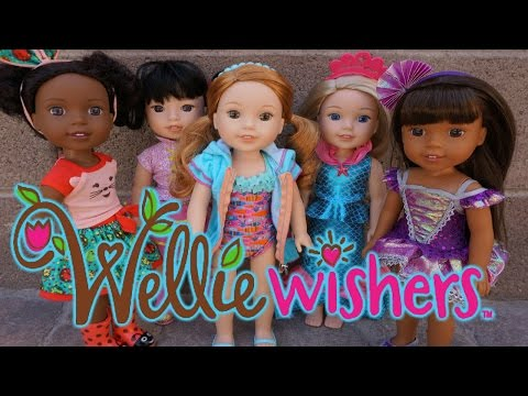 WELLIE WISHERS New Outfits For American Girl Dolls!