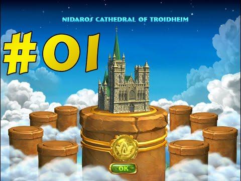 7 Wonders Treasures Of Seven ! Episode #01 : Nidaros Cathedral Of Troidheim  