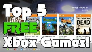 Top 5 FREE Xbox 360 Arcade Games From Marketplace