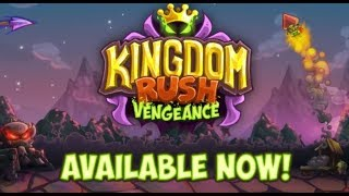 Kingdom Rush Vengeance - Dwarven Gate - Veteran 3 Stars