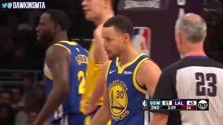 Stephen Curry - Golden State Warriors vs Los Angeles Lakers - Game 46 - Los Angeles, CA